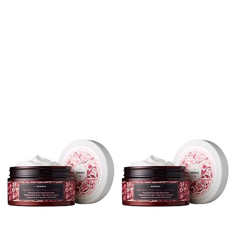 Korres Yoghurt & Berries Firming & Anti-Wrinkle Body Butter Duo