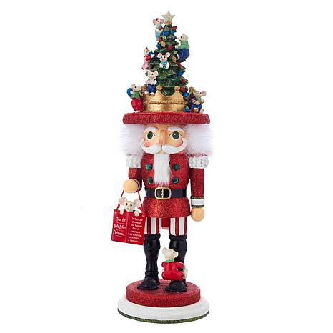 kurt adler 18 night before christmas mice nutcracker - Night Before Christmas Decorations