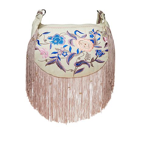 LaBellum by Hillary Scott Embroidered Handbag