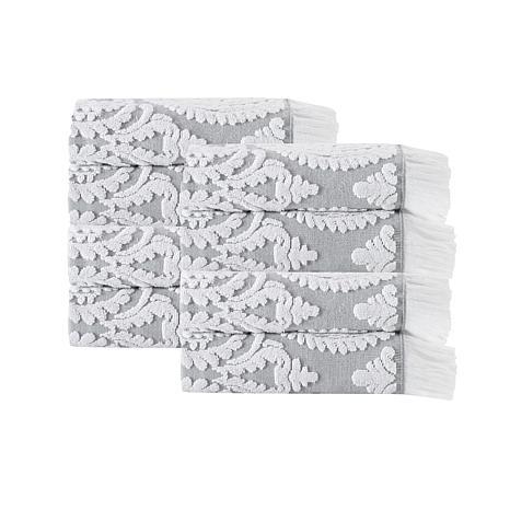 Laina Turkish Cotton 8-piece Hand Towel Set
