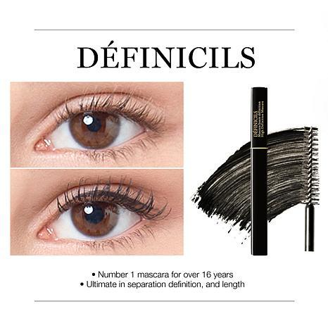 lancome definicils mascara test
