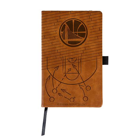Laser Engraved NBA Notepad - Golden State Warriors