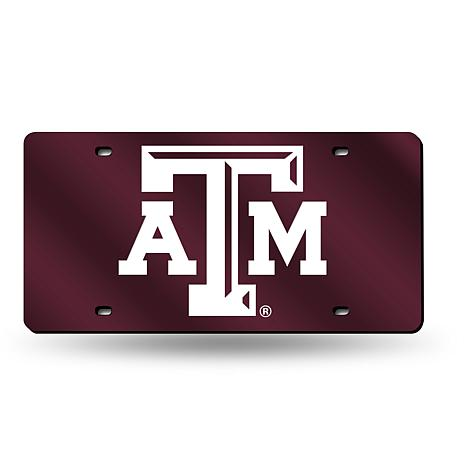 Laser Tag License Plate - Texas A&M University (Red)