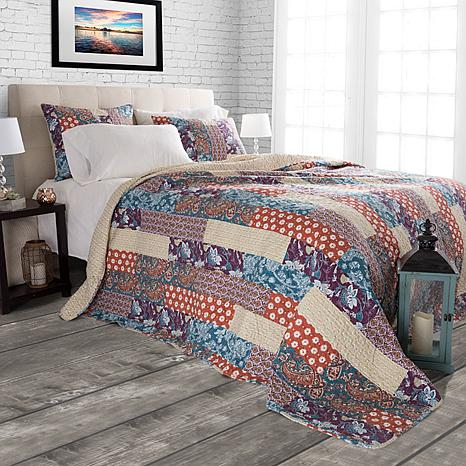 Lavish Home 2pc Santa Fe Cabin & Lodge Quilt Set - Twin