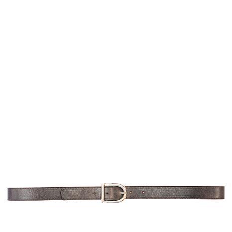 """Leatherock Genuine Leather Classic Buckle 1"""" Belt"""