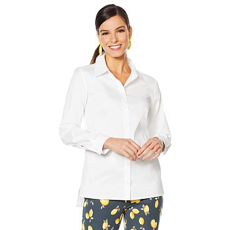Lemon Way On-the-Go Wrinkle Resistant™ Button-Down Shirt -Basic Colors