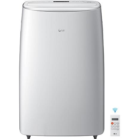LG 115V Dual Inverter Portable Air Conditioner with Wi-Fi Control