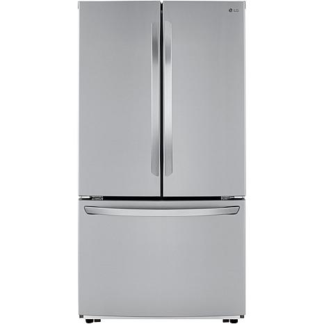 LG 22.8 Cu. Ft. Counter-Depth French Door Freezer Drawer Refrigerator