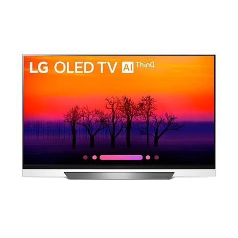 "LG 55"" 4K HDR Smart OLED E8PUA Series TV with AI ThinQ"