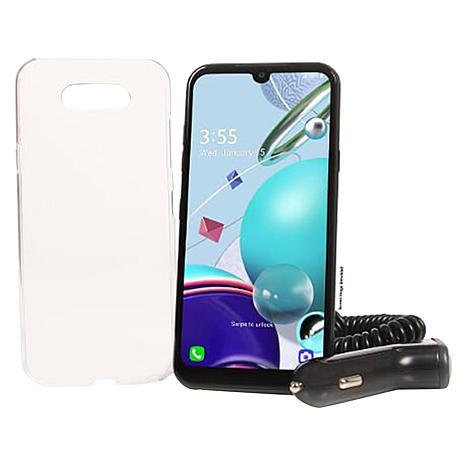 Tracfone 32GB LG K31 Rebel + 1-Year Service (1500 Mins/Texts/MB Data)