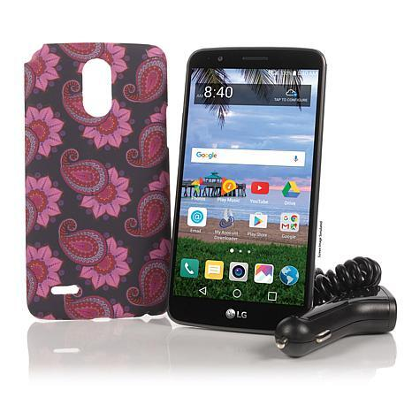 """LG Stylo 3 5.7"""" 16GB Android TracFone Smartphone w/1200 Min/Text/Data"""