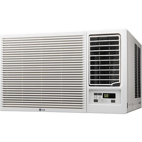Lg 18 000 btu 230v window mounted air conditioner with for 18000 btu window air