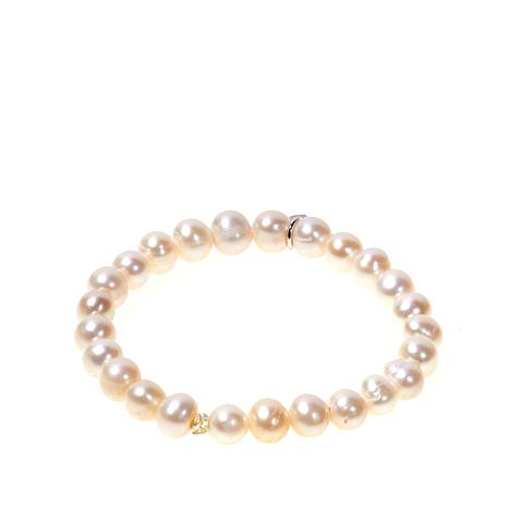 Lily Nily Girl's Cultured Freshwater Pearl Stretch Bracelet