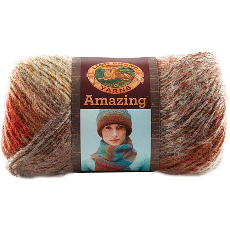 Lion Brand Amazing Yarn - Strawberry Fields