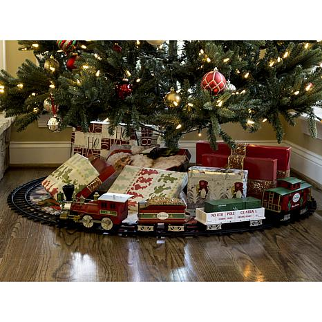 lionel north pole central ready to play train set - Train Set For Christmas Tree