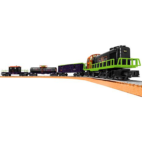 """Lionel Trains """"End of the Line Express"""" O-Gauge Train Set with Remote"""