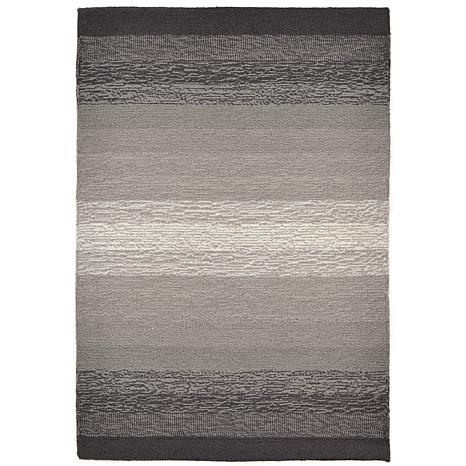 """Liora Manne 24"""" x 36"""" Ravella Ombre Rug - Charcoal"""