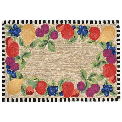 "Liora Manne Frontporch Fruits Rug - 20"" x 30"""