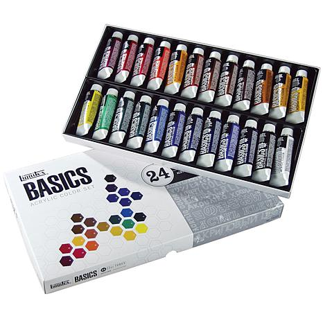 Liquitex 24-pack Basics Acrylic Paint - Assorted Colors