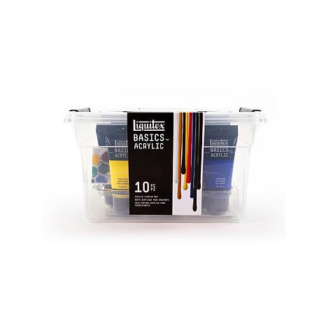 Liquitex Basics Acrylic Sets Starter Box Assorted Set