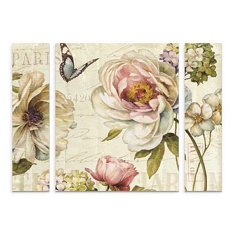 """Lisa Audit """"Marche de Fleurs IV"""" Panel Art - 30"""" x 41"""""""