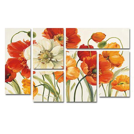 Lisa Audit 'Poppies Melody I' Art Collection