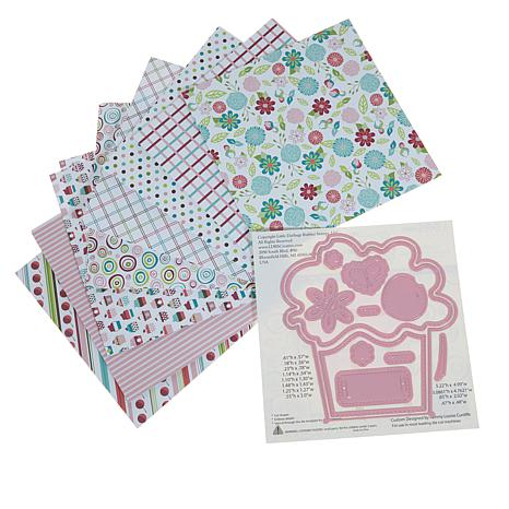 little darlings cherry on top build a card kit 8583737 hsn