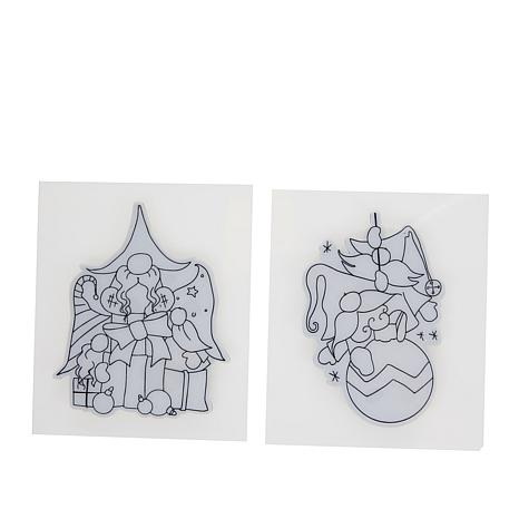 Little Darlings Polkadoodles Christmas Gnomes Stamps - Christmas Gifts