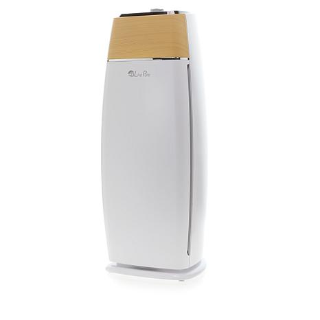LivePure Sierra Series Tall Tower True HEPA Air Purifier