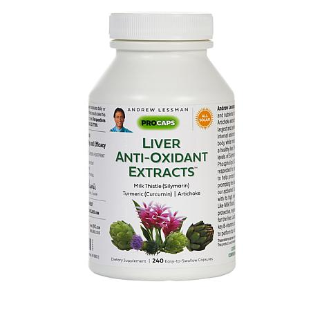 Liver Anti-Oxidant Extracts - 240 Capsules