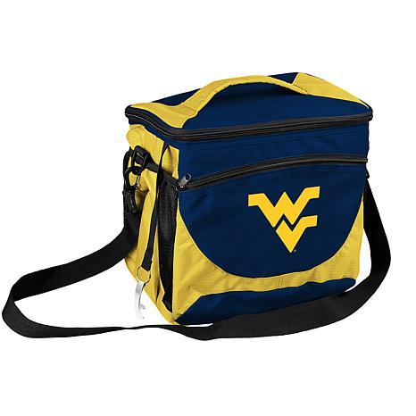 Logo Chair 24-Can Cooler - West Virginia University