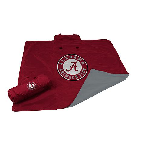 Logo Chair All Weather Blanket - University of Alabama