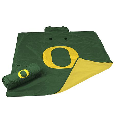 Logo Chair All-Weather Blanket - University of Oregon