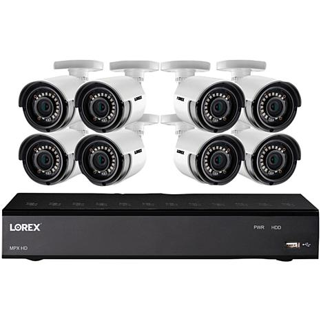 Lorex Full HD 8-Channel Security System w/1TB DVR & 8 HD Cameras