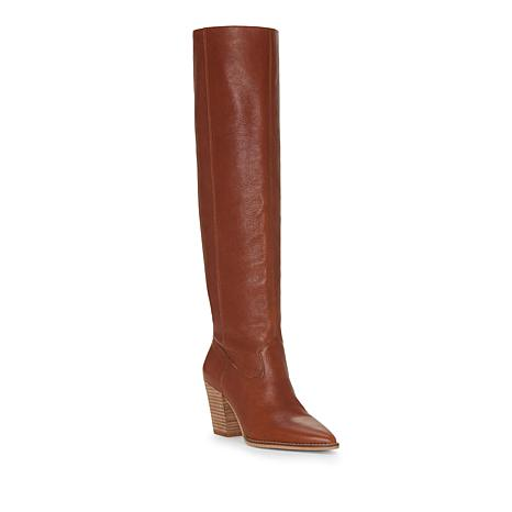 758158c3f59 Lucky Brand Azoola Leather or Suede Tall Slouch Boot - 8859514