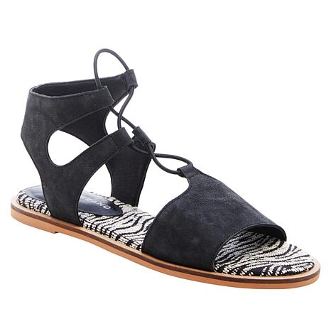 Lucky Brand Feray Leather Flat Sandal