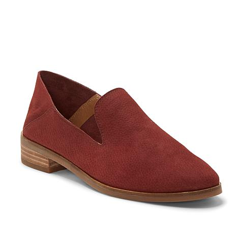 Lucky Brand Leather Collapsible Back Cahill Loafer