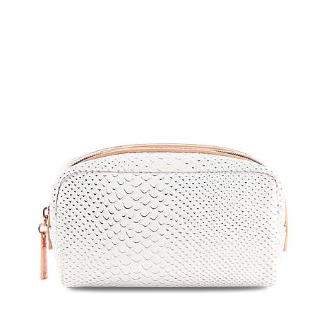 Luke Henderson Small Cosmetic Case - White