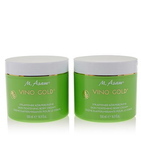 M. Asam 16.9 oz. VINO GOLD Body Cream Duo