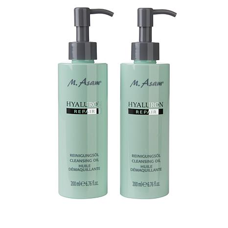 M. Asam® 2-pack Hyaluron Repair Cleansing Oil