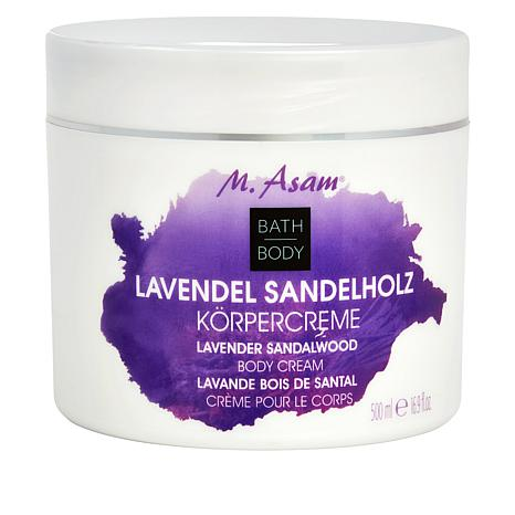 M. Asam Lavender and Sandalwood Body Cream