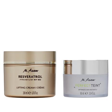 M. Asam Resveratrol NT50 Lifting Cream & Perfect Teint