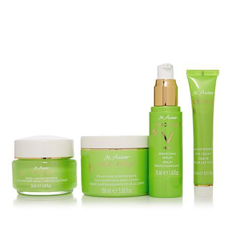 M. Asam Vino Gold 4-piece Deluxe Skincare Kit