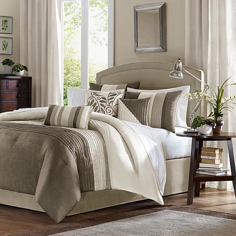 madison park amherst comforter set california king - Cal King Comforter Sets