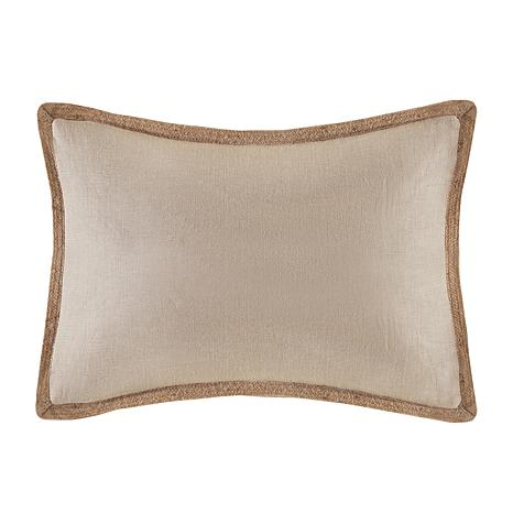 Madison Park Embroidered Decorative Oblong Pillow - Brown - 7447034 HSN