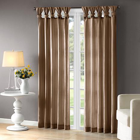 """Madison Park Emilia Curtain - Bronze - 50"""" x 95"""""""
