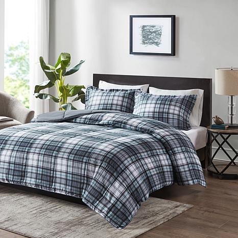 Madison Park Essentials Parkston 3M Comforter Set Grey King/Cal King