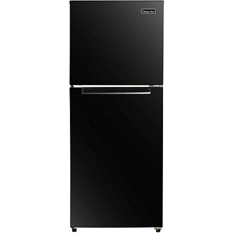 Magic Chef Black 10.1-Cu. Ft. Refrigerator with Top-Mount Freezer
