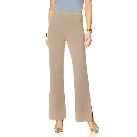 MarlaWynne Double Knit Sweater Pant