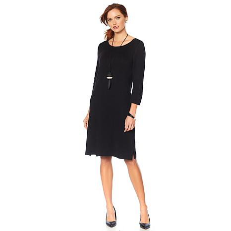 MarlaWynne Double Sweater Knit Dress